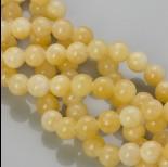 Zdjęcie - Jadeit marmurkowy kulka gładka w kolorze mango 10mm