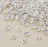 Zdjęcie - Czapeczka na koraliki kwiatek 8 mm