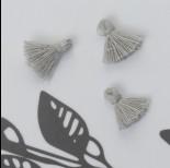 Zdjęcie - Mini chwost bawełniany siwy 10-15mm