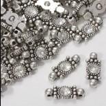 Zdjęcie - Przekładka z kryształkiem koloru ciemnego srebra crystal  20,5mm