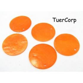 Zdjęcie - Masa perłowa koło pomarańczowe 30mm