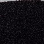 Zdjęcie - Koraliki Matsuno hexagon Opaque Black 15/0 H