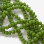 Zdjęcie - Kryształki oponki full green 4x6mm