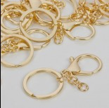 Zdjęcie - Baza breloczka w złotym kolorze
