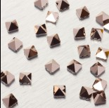 Zdjęcie - 5061 Square spike bead rose gold 7.5mm