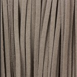 Zdjęcie - Rzemień zamszowy płaski jasny szary 2,5x1mm