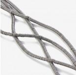 Zdjęcie - Hematyt platerowany krążek płaski matowy srebrny 3x1mm