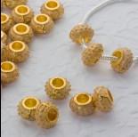 Zdjęcie - Koralik emaliowany sunny yellow 6mm