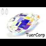 Zdjęcie - 6010 briolette pendant, SWAROVSKI, crystal AB 17mm