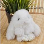 Zdjęcie - Zawieszka króliczek biały 15cm