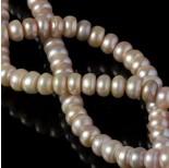 Zdjęcie - Perła naturalna button różowe 10-11mm