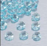 Zdjęcie - Preciosa octagon light blue 14mm