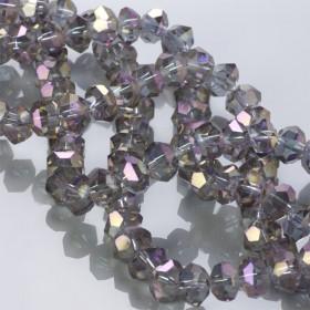 Zdjęcie - Kryształki flat cube violet AB 10x7mm