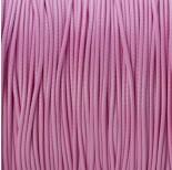Zdjęcie - Sznurek powlekany różowy 1mm