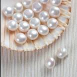 Zdjęcie - Naturalne perły do kolczyków 13-15mm