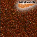 Zdjęcie - Koraliki NihBeads 12/0 Inside-Color Topaz/ Tomato Line