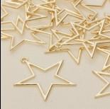Zdjęcie - Zawieszka gwiazda wycięta 40 mm
