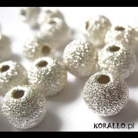Zdjęcie - Kulki srebrne diamentowe, próba Ag925 6mm