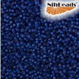 Zdjęcie - Koraliki NihBeads 12/0 Inside-Color Lt Cobalt/ White Line