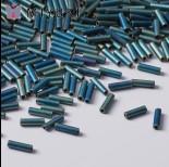 Zdjęcie - Koraliki Miyuki Bugles #2 6 mm Matted Metallic Patina Iris