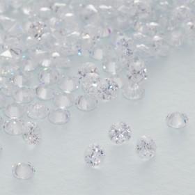 Zdjęcie - Cyrkonia fasetowana zawieszka crystal 4mm