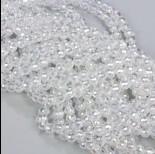 Zdjęcie - Kryształki kulki fasetowane crystal AB 6mm