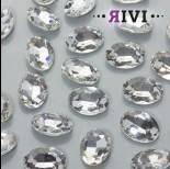 Zdjęcie - Kaboszon kryształowy crystal 13x18mm