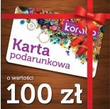 Zdjęcie - Karta podarunkowa o wartości 100 zł
