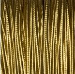Zdjęcie - Sznurek do sutaszu ciemny złoty 3mm