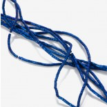 Zdjęcie - Hematyt matowy przekładka wielokąt platerowana niebieska  2x1mm