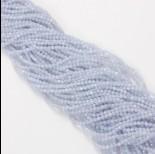Zdjęcie - Agat blue lace kulka fasetowana 2.7mm