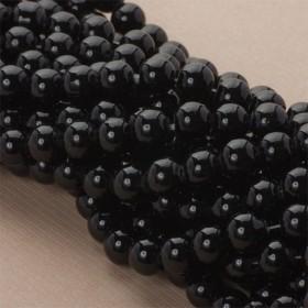 Zdjęcie - Perły szklane czarne 10mm