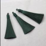Zdjęcie - Chwost z wiskozy ciemny zielony ok. 80mm