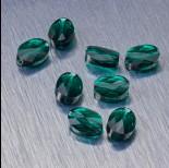 Zdjęcie - 5051 Swarovski mini oval bead 8x6mm Emerald