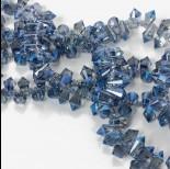 Zdjęcie - Kryształki drop fasetowane blue shade 6x11mm