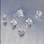 Zdjęcie - 5051 Swarovski mini oval bead 8x6mm Crystal