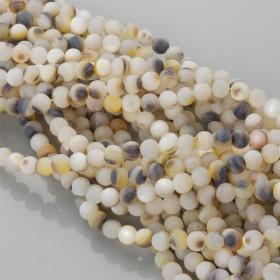 Zdjęcie - Masa perłowa opalizująca kulka matowa 7mm
