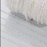 Zdjęcie - Łańcuch rollo w srebrnym kolorze 3mm