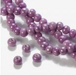 Zdjęcie - Ceramiczne kulki dwukolorowe różowo-fioletowe 12mm