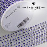 Zdjęcie - Taśma z kryształkami kolor srebrny sapphire 3mm