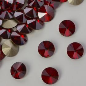 Zdjęcie - Swarovski rivoli stone red magma 8mm