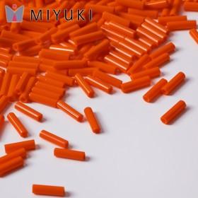 Zdjęcie - Koraliki Miyuki Bugles #2 6 mm Opaque Orange