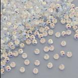 Zdjęcie - Swarovski rondelle bead crystal AB 4mm