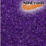 Zdjęcie - Koraliki NihBeads 12/0 Inside-Color Crystal/ Purple Line