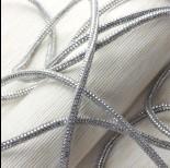 Zdjęcie - Rzemień stardust silver 6mm