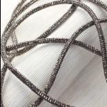 Zdjęcie - Rzemień stardust hematite 6mm