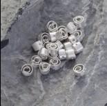 Zdjęcie - Srebrny koralik spiral Ag925 6.5mm