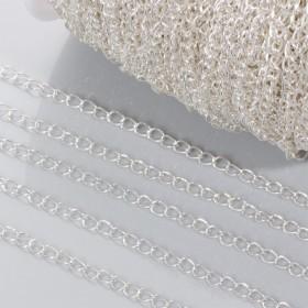 Zdjęcie - Łańcuch simple w srebrnym kolorze 3.5mm