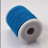 Zdjęcie - Tuba kauczukowa w oplocie 5mm niebieska