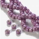 Zdjęcie - Ceramiczne oponki fioletowe 14x10mm